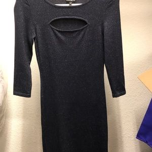 Cute shimmery dress from express XS